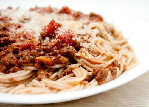 spaghetti panggang, kuliner surabaya